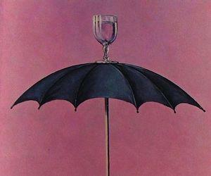 art and umbrella image