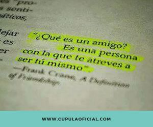 amigo, books, and frases image