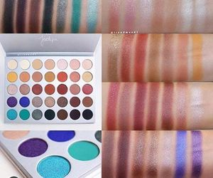 colorful, eyeshadow, and jaclyn hill image