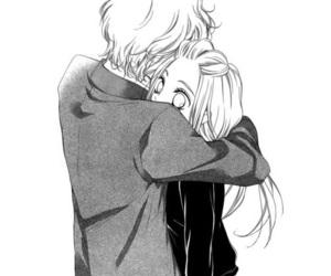 manga, hug, and shoujo image