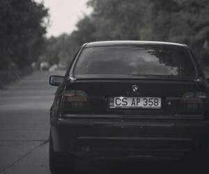 bmw, dark, and drift image