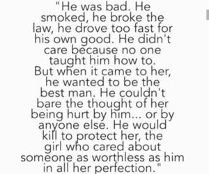 quotes, love, and bad boy image