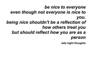 be nice, heart, and kind image