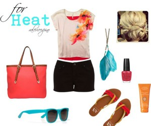 bright colors, clothes, and fashion image
