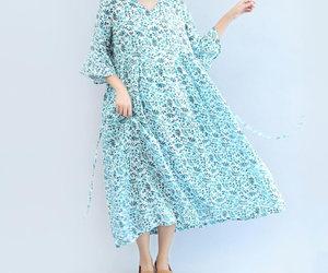etsy, summer dress, and long maxi dress image