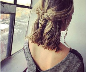 chicas, hairstyles, and tatuajes image
