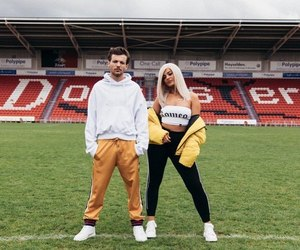 louis tomlinson, bebe rexha, and one direction image