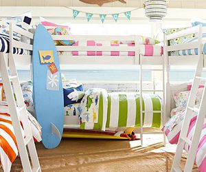 beach, bedroom, and home image