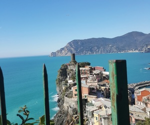 blue, italy, and photography image