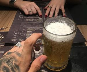 dark, drink, and ghetto image