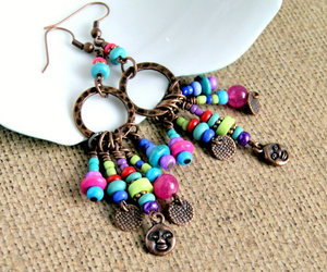 color, fashion, and colorful jewelry image