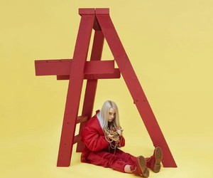 billie eilish and dont smile at me image