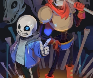 bea, blue, and bones image