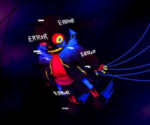anime, cross, and error image