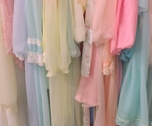 pastel, aesthetic, and dress image