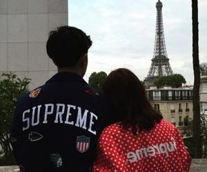 couple, supreme, and tumblr image