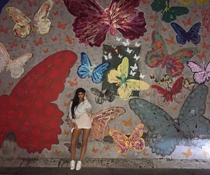 kylie jenner, style, and butterfly image