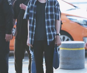 bts, v, and airport image