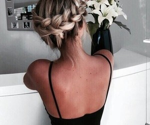 braids, fashion, and hair style image