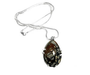 etsy, silver pendant, and sterling pendant image