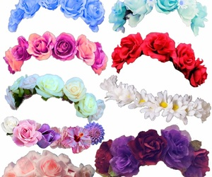 edit, flower crown, and png image