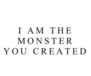 monster and quotes image