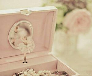 pink, ballerina, and box image