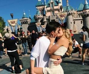 castle, prince and princess, and couple image