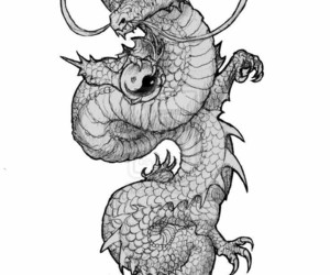 tattoo and dragon image