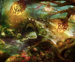 forest, fantasy, and nature image