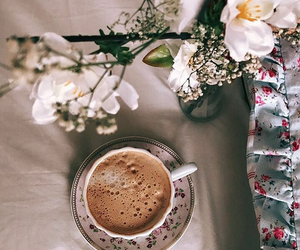 beautiful, coffee, and morning image