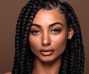 braids and freckles image