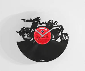 etsy, sons of anarchy, and anarchy home decor image