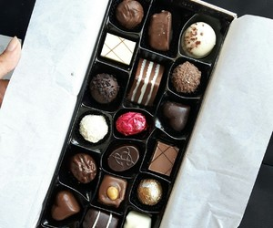 bakery, chocolate, and food image