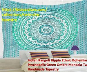 mandala tapestry, buy tapestries, and queen size tapestries image