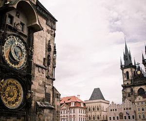 prague, vintage, and czech republic image
