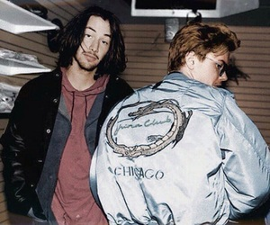 river phoenix, keanu reeves, and 90s image