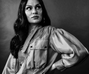 beautiful, jessie j, and black and white image