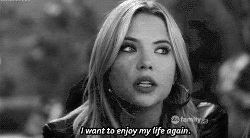 pretty little liars, life, and pll image