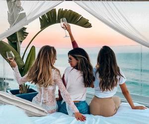 summer, girls, and goals image