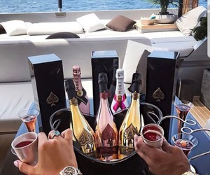 champagne, drink, and luxury image
