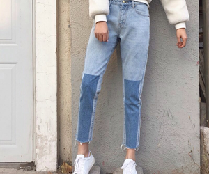 alternative, jeans, and fashion image