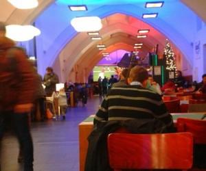 college, Heidelberg, and lights image