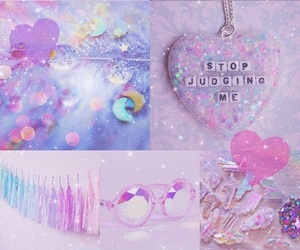 pink, purple, and wallpaper image
