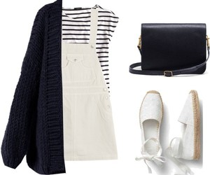 fashion, outfit, and dungaree dress image