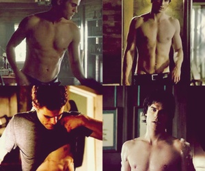 Hot, naked, and stefan salvatore image