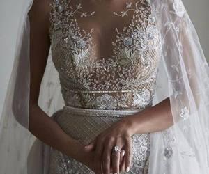 dress and weddind image