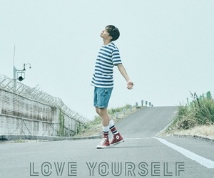 bts, jhope, and love yourself image