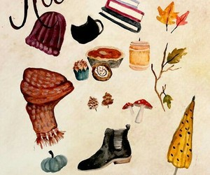 autumn, leaves, and season image