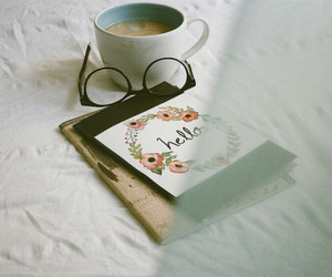book, glasses, and tumblr image